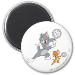 Tom and Jerry Tennis Stars 1 Refrigerator Magnets