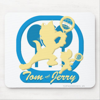 Tom and Jerry Tennis Stars 3 Mouse Mat