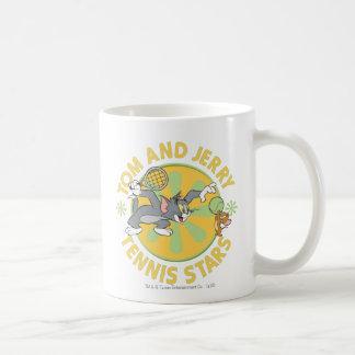 Tom and Jerry Tennis Stars 5 Coffee Mug