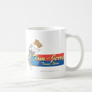 Tom and Jerry Tennis Stars 6 Coffee Mug