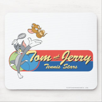 Tom and Jerry Tennis Stars 6 Mouse Pad