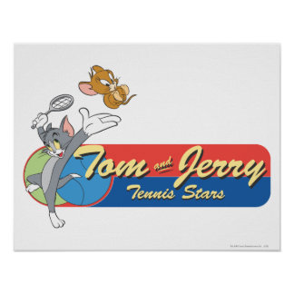 Tom and Jerry Tennis Stars 6 Poster