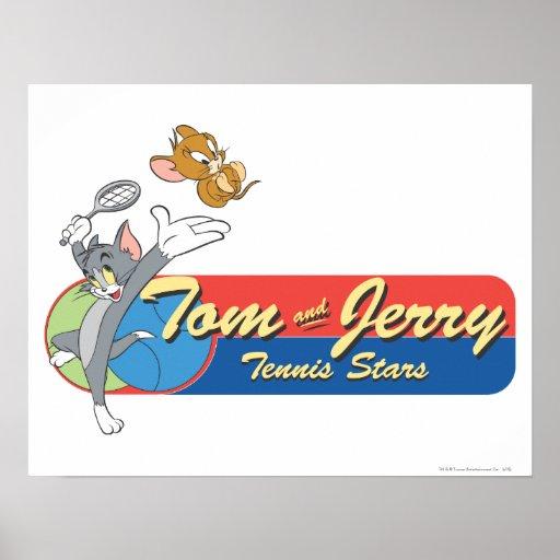 Tom and Jerry Tennis Stars 6 Print