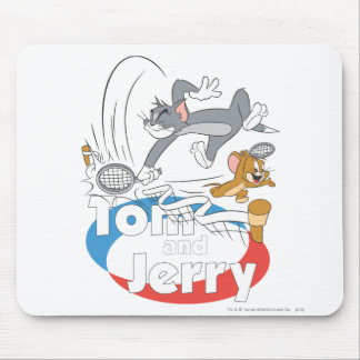 Tom and Jerry Tennis Stars 7 Mouse Mat