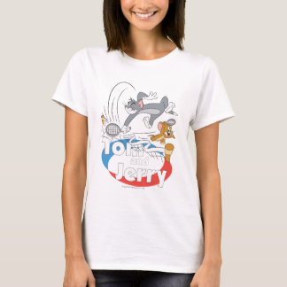 Tom and Jerry Tennis Stars 7 T-Shirt