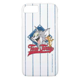 Tom And Jerry   Tom And Jerry On Baseball Diamond iPhone 8/7 Case