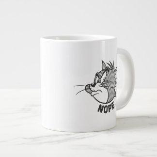 Tom And Jerry | Tom Says Nope Large Coffee Mug