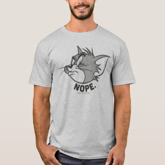 Tom And Jerry   Tom Says Nope T-Shirt