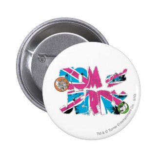 Tom and Jerry UK Overload 6 Cm Round Badge