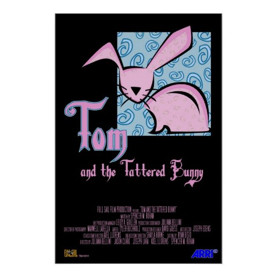 Tom and the Tattered Bunny Poster