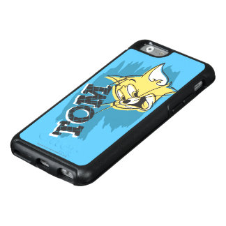 Tom Blue and Yellow Logo OtterBox iPhone 6/6s Case