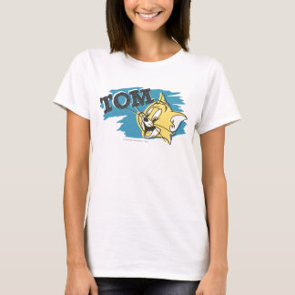 Tom Blue and Yellow Logo T-Shirt