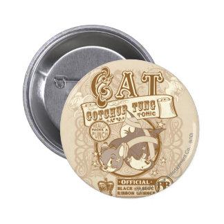 Tom Cat Gotchur Tung Tonic 6 Cm Round Badge