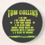 Tom Collins coaster