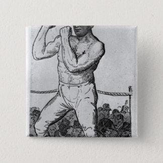 Tom Cribb 15 Cm Square Badge