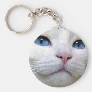 Tom Keychaine Basic Round Button Key Ring