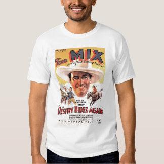 Tom Mix 1932 vintage movie poster T-shirt