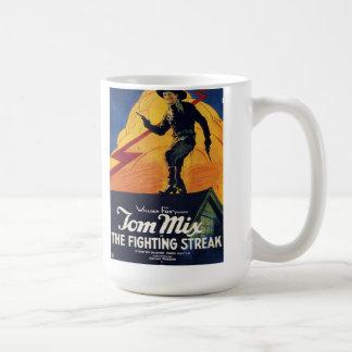 "Tom Mix in ""The Fighting Streak"" Mug"