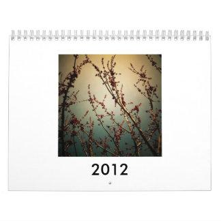 Tom Myler's 2012 Calendar