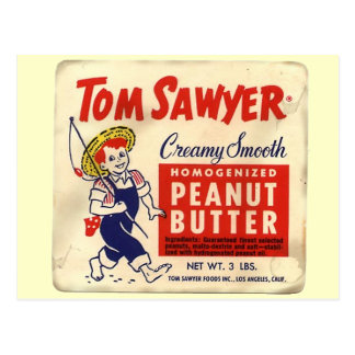 Tom Sawyer - 1945 Postcard