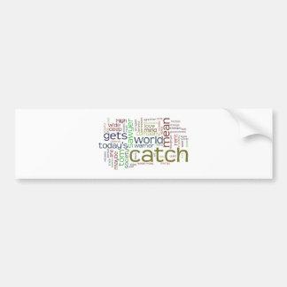 Tom Sawyer word cloud bumper sticker