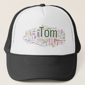Tom Sawyer Word Cloud Trucker Hat
