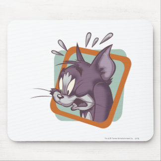 Tom Scaredy Cat Mouse Mat