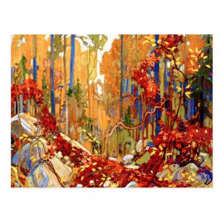 Tom Thomson - Autumn's Garland Postcard