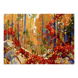 Tom Thomson - Autumn's Garland Poster