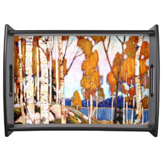 Tom Thomson - Decorative Landscape Serving Tray