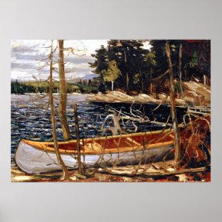 Tom Thomson - The Canoe Poster