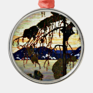 Tom Thomson - The Jack Pine-1917 artwork Christmas Ornament