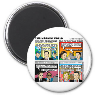 Tom Tomorrow 9/11Memorial Funny Gifts & Tee Part 2 Magnets