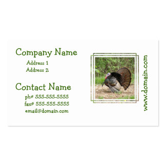 Tom Turkey Business Card Templates