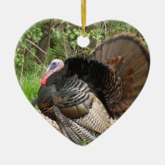 Tom Turkey Christmas Ornament