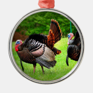 Tom Turkey Christmas Tree Ornament