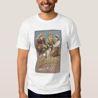 Tom Tyler Cowboy Musketeer Tee Shirt