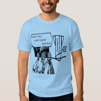 Tomahawk Cruise Missile: 1.6 Mil. Political Comic T-shirts