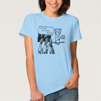 Tomahawk Cruise Missile: 1.6 Mil. Political Comic Tee Shirt