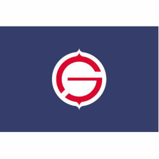 Tomakomai, Hokkaido, Japan flag Acrylic Cut Outs