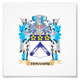 Tomasoni Coat of Arms - Family Crest Photo Print