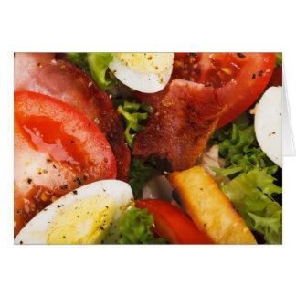 Tomato and Bacon Salad Card