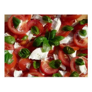 Tomato and Mozzarella Salad Postcard