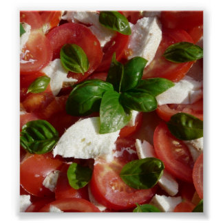 Tomato and Mozzarella Salad Poster
