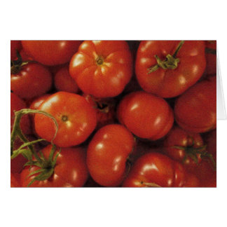 Tomato Art Card