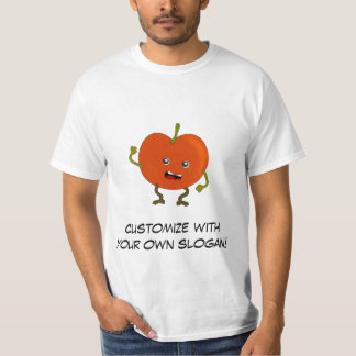 Tomato: Bad Fruit Gang with Customizable Text T-Shirt