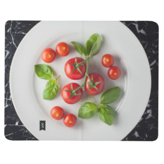 Tomato & Basil Notepad Journal