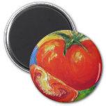 Tomato by Paris Wyatt Llanso 6 Cm Round Magnet