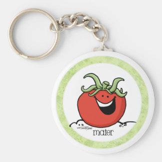 Tomato Cartoon - Veggie keychain