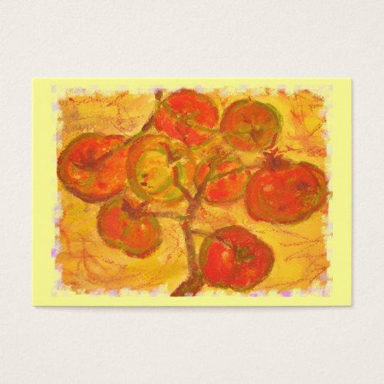 tomato cluster watercolour